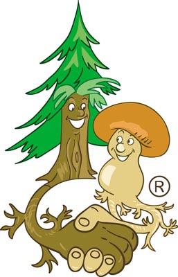 Plant Mushroom Logo