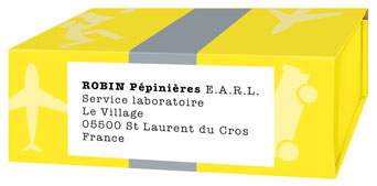 Robin Nurseries EARL.  Laboratory Service.  The village.  05500 St Laurent du Cros France