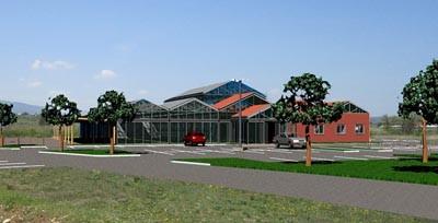 2012 : Ouverture d'une jardinerie ROBIN JARDIN BOTANIC